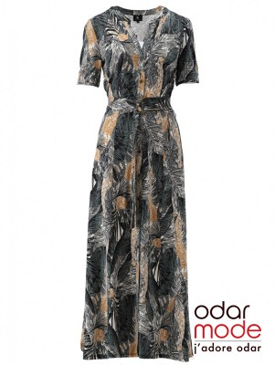 Dames Maxi Kleed - S897 - K-design