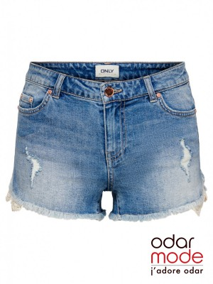 Dames Jeansshort - 15226956 - Only