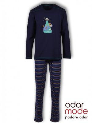fb246ea3f60 Heren pyjama Woody - Ref: 192-1-pul-s/839 - Peacoat€ 59.95