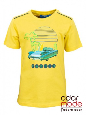 56a2d52ef619e6 -70% Jongens t shirt CabrioSomeone - Ref: Sb02.191.17938 - Geel€ 5.39 €  17.95