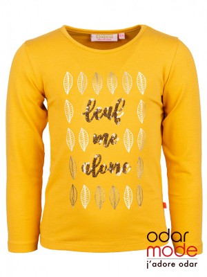 bf3112dc15c56b Meisjes t-shirt LeafySomeone - Ref: Sg03.192.18465 - Oker€ 19.95